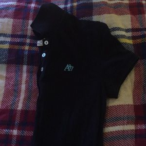 Navy Aeropostale Polo with logo
